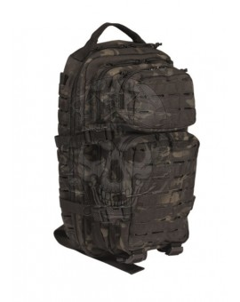 Mochila US Assault laser cut Multitam-Negra Mil-tec