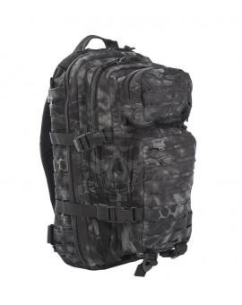 Mochila US Assault Pack SM Laser cut Mandr-Night Miltec