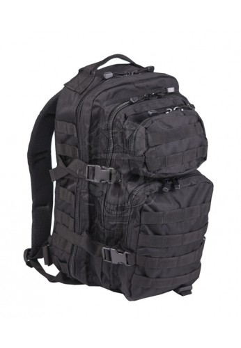 Mochila US Assault Pack SM negra Miltec