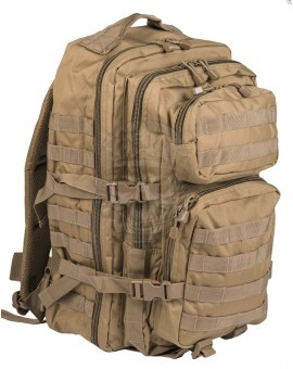 Mochila US Assault Pack SM coyote Miltec