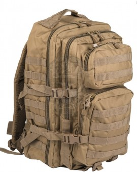 Mochila US Assault Backpack LG Coyote Miltec