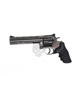 "DAN WESSON 715 6"" REVOLVER STEEL GREY"