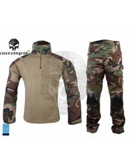 UNIFORME EMERSON GEAR ESTILO WOODLAND G2
