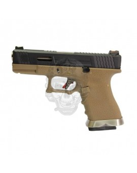 WE- Glock19 T2 Gbb Tan
