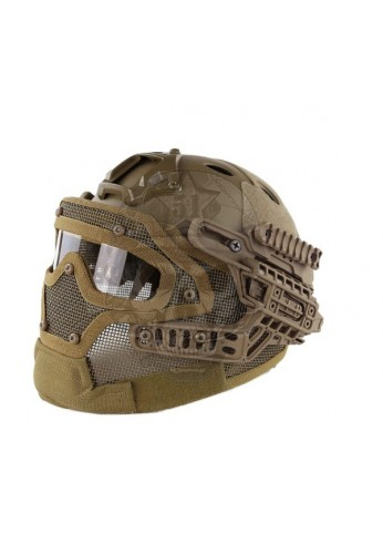 CASCO G4 PJ HELMET TAN EMERSON GEAR