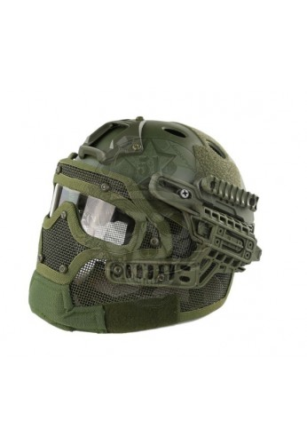 CASCO G4 PJ HELMET OD EMERSON GEAR