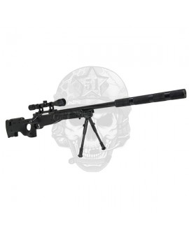 L96 Sniper rifle Well negro