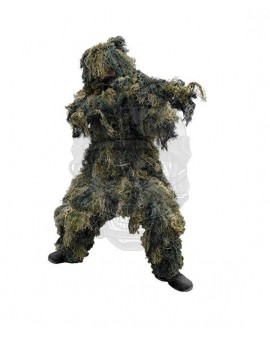 GHILLIE SUIT ′ANTI FIRE′ 4PC MILTEC