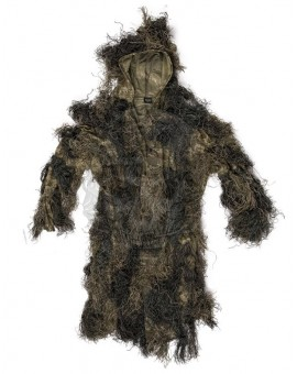 "GHILLIE PARKA WOODLAND ""ANTI FIRE"" MILTEC"