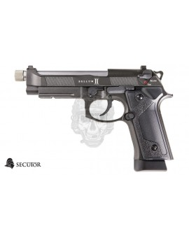 PRE-ORDER PISTOLA GAS Y CO2 BELLUM II GREY SECUTOR