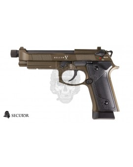 PRE-ORDER PISTOLA GAS Y CO2 BELLUM V BRONZE SECUTOR