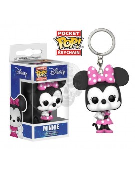 LLAVERO DISNEY POCKET POP! VINYL MINNIE MOUSE 4CM