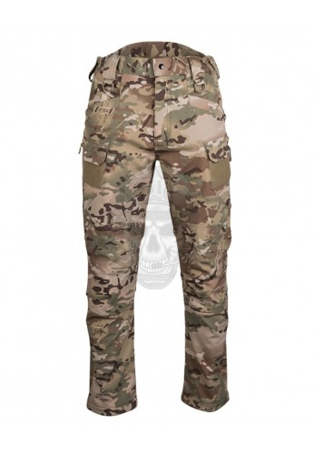 "PANTALON ""ASSAULT"" SOFTSHELL MULTICAM MIL-TEC"