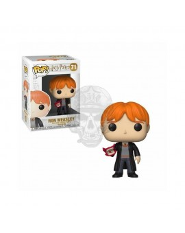 HARRY POTER POP! FIGURA RON WITH HOWLER 9CM